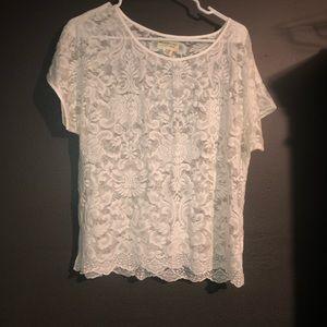 Ralph Lauren lace top